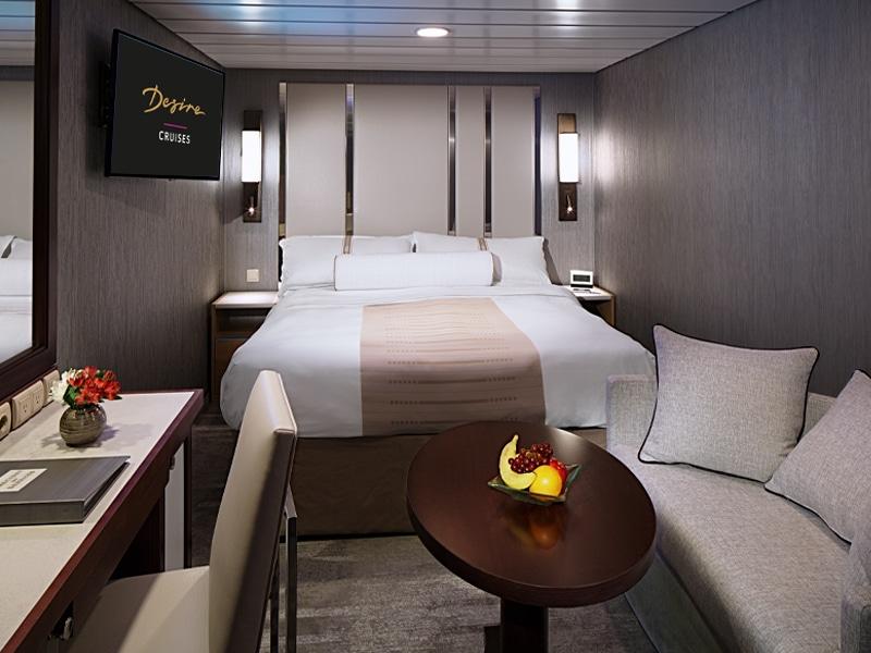 Desire Cruise | Club Interior Stateroom