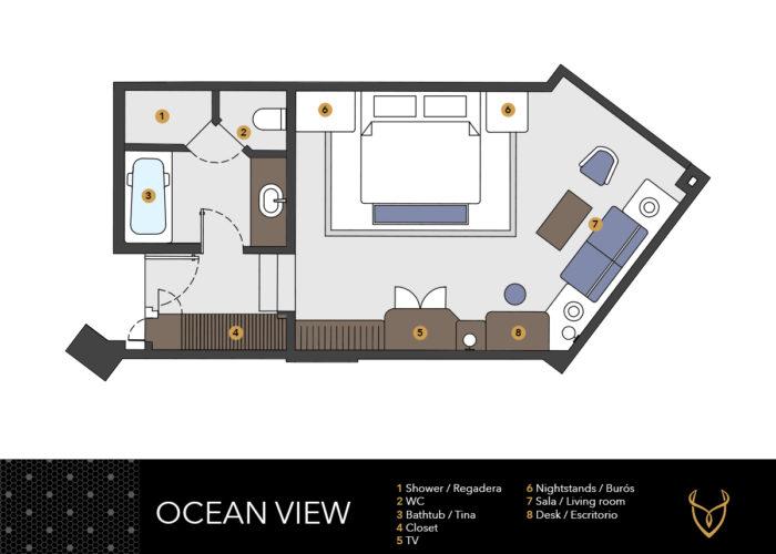 Desire Riviera Maya Pearl Resort | Ocean View Room