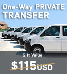One-Way private Transfer at Desire Resorts