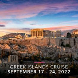 Desire Experience | Desire Greek Islands Cruise, September 2022